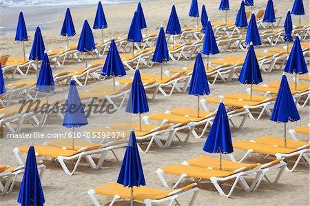 Spain, Canary islands, Lanzarote, beach of Costa Calma