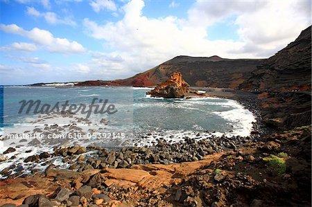 Spain, Canary islands, Lanzarote, El Golfo