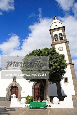 Spain, Canary islands, Lanzarote, Arrecife, Iglesia San Gines