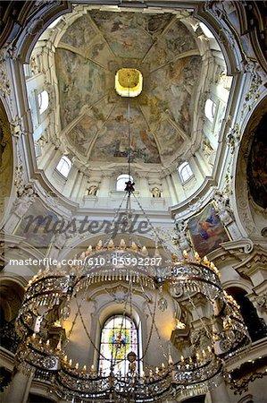 Czech Republic, Prague, staromestske square, Saint Nicolas church