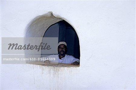 Mayotte, mosque of Tsingoni, muslim