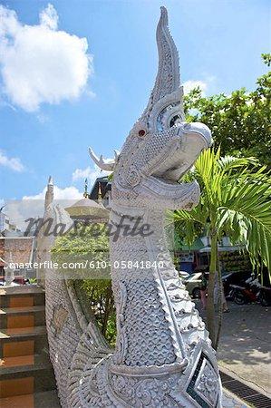 Thailand, Chiang Mai, wat Pouckchang