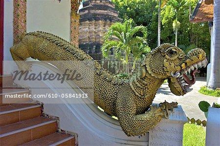 Thailand, Chiang Mai, wat Umong mahathera chan