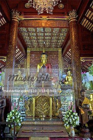 Thailand, Chiang Mai, Wat ket Karam