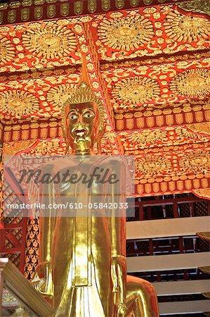 Thailand, Chiang Mai, wat Suan Dok, Buddha