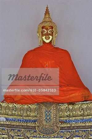 Thailand, Bangkok, Wat Pho, Buddha