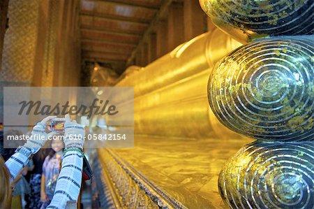 Thailand, Bangkok, Wat Pho, tourist