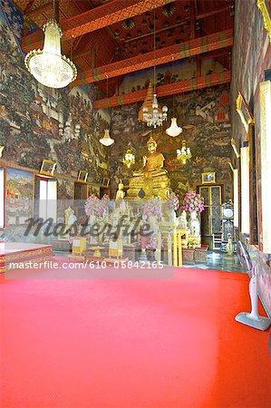 Thailand, Bangkok, Wat Arun, inside the main temple