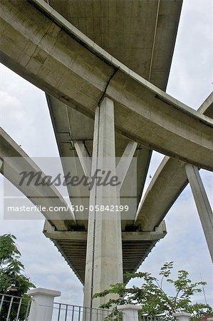 Thailand, Bangkok, freeway