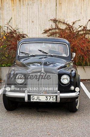 A black Rover, Sweden.