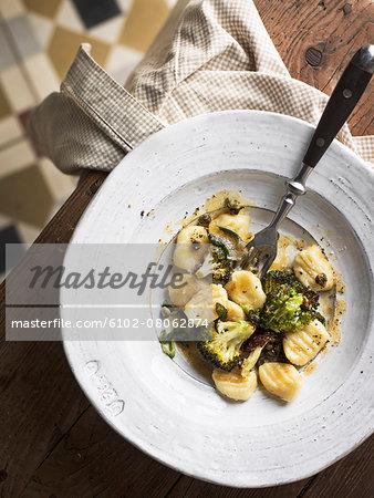 Gnocchi with broccoli