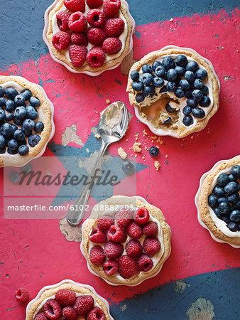 Little fruit tarts