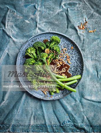 Broccoli on plate