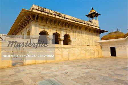 Diwan-I-Khas, inside the Agra Fort