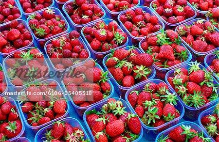 Strawberries, Lyon