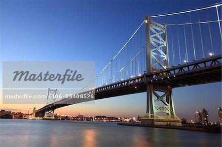 Benjamin Franklin Bridge, Philadelphia, PA