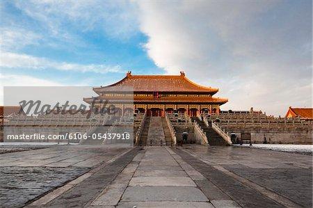 Forbidden City after Snow