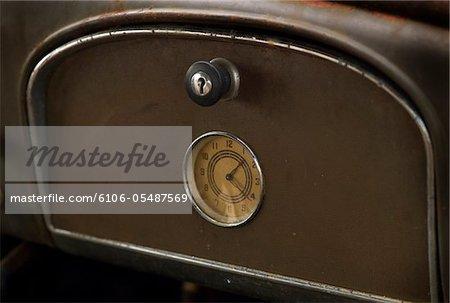 Clock in a rustbucket