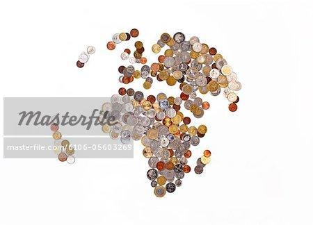 Global money map