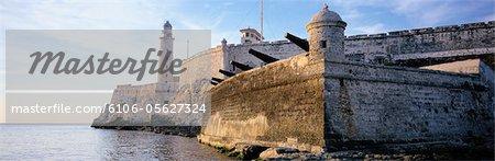 Cuba, Havana, El Morro castle and fortress