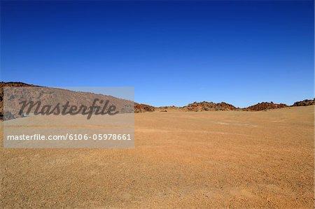Barren Desert in El Teide National Park