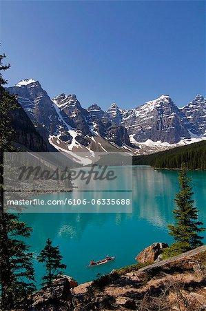 Moraine, Lake, Banff Nationalpark, Alberta