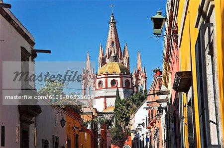 san miguel arcangel church from aldama street