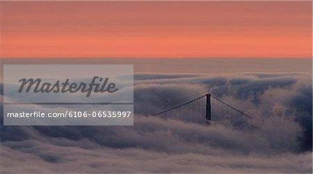 North Tower Through Fog