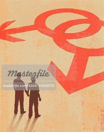 Gay Partners Illustration