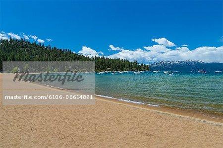 Beach, Lake Tahoe, USA