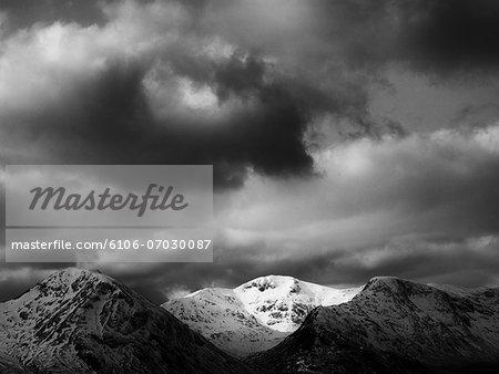 Scotland, Scottish Highlands, Black Mount.