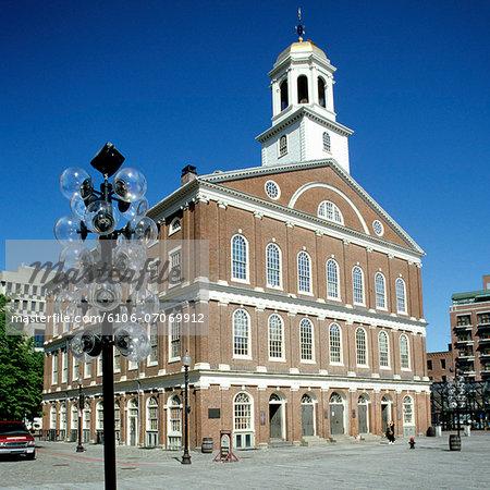 Faneuil Hall, Boston, Massachusetts, USA