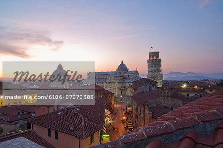 View of Piazza (square) dei Miracoli