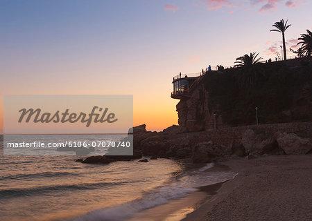 Nerja, Costa del Sol, Spain.