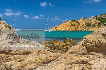 Sardinia, La Maddalena Island, Spalmatore Beach