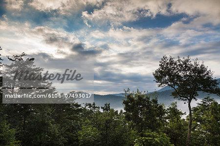 Appalachian mountains, Blue Ridge, GA, USA