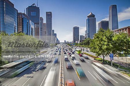 transportation in downtown Beijing