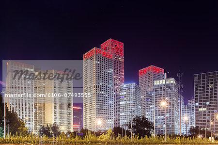 modern buildings in Beijing