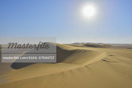 Sand Dune with Sun