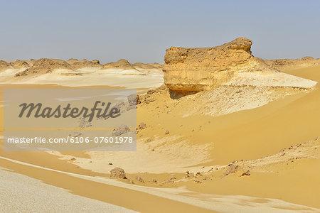 Rock Formation in Desert