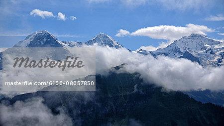 Eiger, Münch and Jungfrau, Bernese Alps