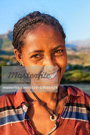 Young  Ethiopian girl, East Africa
