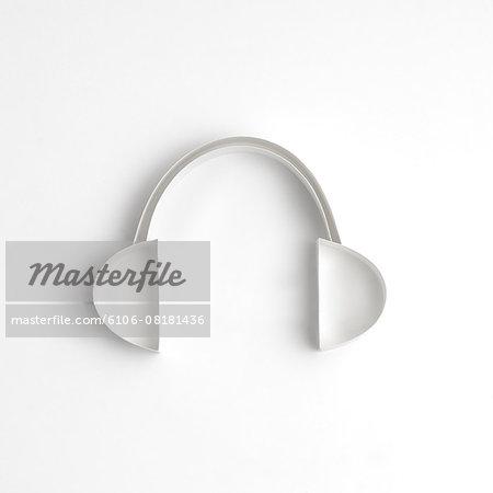 Origami, headphones