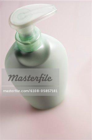 Soap dispenser, close-up