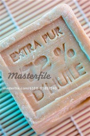 Soap, close-up
