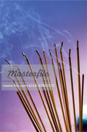 Incense sticks (close-up)