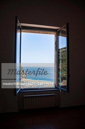 View of the port, Massa Lubrense, Campania, Italy