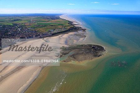 France, Northern France, Pas de Calais. Le Portel and Heurt Fort