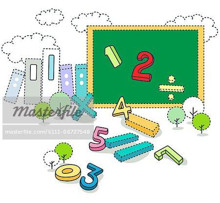 Learning mathematics on blackboard