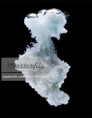 White milk cloud